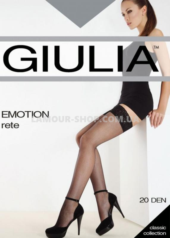 фото Чулки GIULIA EMOTION RETE daino S